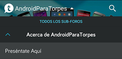 acerca de androidparatorpes